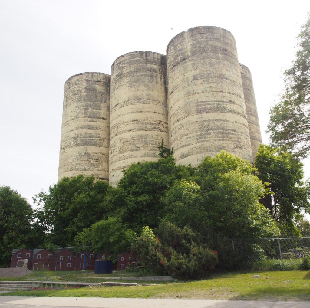 Flour Mill Silos, Sudbury Ontario